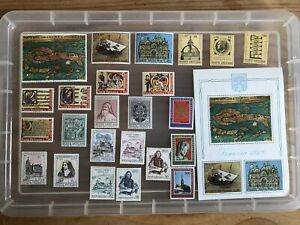 Vatican Stamps unchecked collection UMM (XX409)