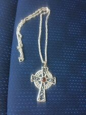 Vintage Sarah Coventry 1979 Limited Edition Celtic Cross Necklace