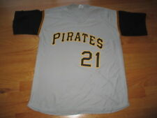 Park Anthony Label ROBERTO CLEMENTE No. 21 PITTSBURGH PIRATES (XL) Jersey