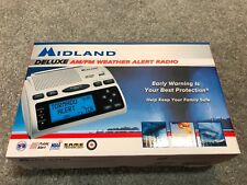 Midland Wr300 Am/Fm Programmable Weather Alert Radio Instant Weather Brand New