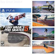 Tony Hawks Pro Skater 5 Standard Edition For PlayStation 4 New Ps4 Games Se