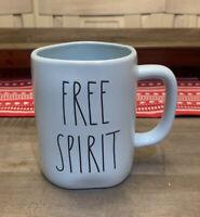 Rae Dunn By Magenta - LL FREE SPIRIT - Pastel Blue Ceramic Coffee Mug