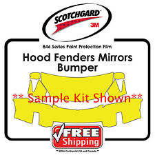 Kits for Subaru - 3M 846 Scotchgard Paint Protection Film - Hood Bumper Fen