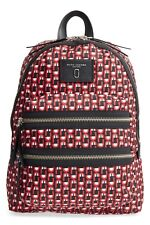 NWT Marc Jacobs Red Logo Scream Biker Backpack Bag New  $250