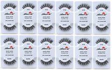 Amor Us 100% Human Hair False Eyelashes #43 (pack of 12pairs) compare Red Cherry