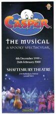 Casper The Friendly Ghost The Musical-A Spooky Spectacular Brochure 1999 Scarce