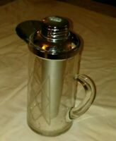 Gilley Chill-it Pitcher heavy plastic or lucite