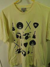 (2006) The Mtv Store ~ Yellow ~ Size:XL (Band_Musician_DJ) Ltd Promo T-SHIRT