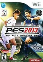 Nintendo Wii Video Game PES 2013 Pro Evolution Soccer Complete