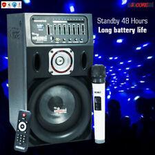 Rechargeable Equalizer Amplifier Powerful Karaoke Machine System + 1 Digital Mic