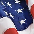 Grace Alley American Flag: 4x6 FT US Flag - 100% Made in USA. Embroidered Stars,