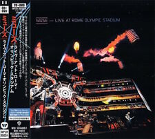MUSE Live At Rome Olympic Stadium * SEALED JAPAN CD+DVD WPZR-30503/4