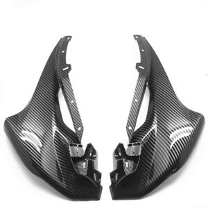 Front Nose Side Trim Panel Fairing For HONDA CBR 250R 2011-2014 Carbon Fiber