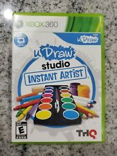 UDRAW STUDIO: INSTANT ARTIST (GAME ONLY) XBOX 360 Free Shipping