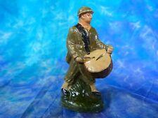 Soldat en composition tambour 2 (ELASTOLIN, HAUSSER, DURSO, DC, SOLIDO ?)