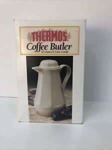 Vintage 1982 Thermos COFFEE BUTLER CHRISTA Carafe West Germany #430 NOS