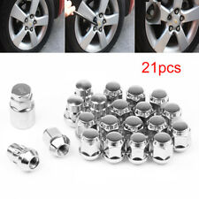 Set of 20 M12 x 1.5 19mm Hex alloy wheel nuts lugs bolts for Ford Focus