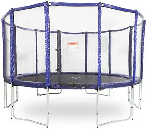 GeeTramp® 14ft Round Trampoline with FREE ladder