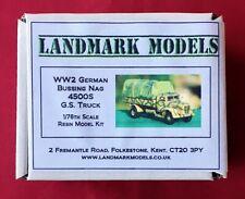 NEW!  1/76th WW2 GERMAN BUSSING NAG 4500S GS TRUCK -  Landmark Models resin kit