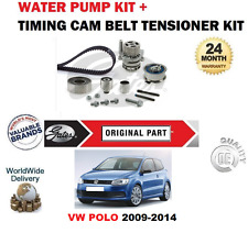 FOR VW POLO CFWA CAYA CAYB CAYC CLNA 2009-2014 TIMING BELT KIT + WATER PUMP SET