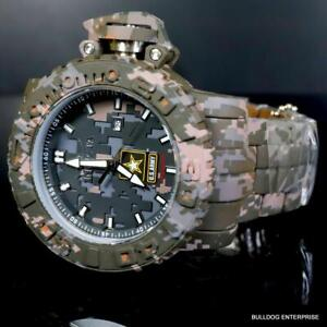 Invicta Sea Hunter Army Hydroplated Camouflage Steel 58mm Automatic Watch New