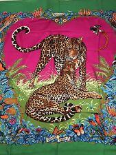 Chale Foulard hermes 140  Cachemire Jungle Love 2014 Neuf Collector Shawl 55