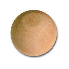 100x Natural Wooden Craft Wood Balls Sphere 50mm Diameter Craft Supplies Beech
