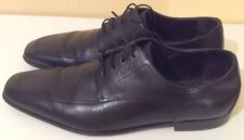 Pre Owned BRUNO MAGLI Black ALL LEATHER  Lace Up Shoes.Size:12