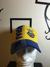 Baseball Hat Ukraine Ykpaiha Embroibered Cap Futbol Soccer One Size Velcro