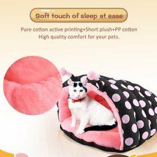 Luminous Pet Cat Bed Puppy Cushion House Pet Soft Warm Kennel Dog Mat Blanket Us
