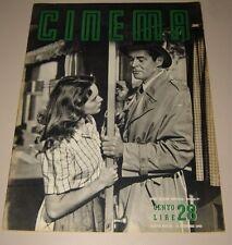 CINEMA=1949=ITALY MAGAZINE=JANET LEIGH ROBERT RYAN ZINNEMANN SILVANA MANGANO