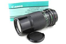 CANON FDn 1:4.5 F=70-150mm Zoom Lens. Caps A-1, AE-1, AE-1 AV-1, T Range (128451