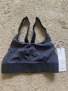 Varley Bra Stripe    - Size S Workout Activewear!! Cute!!