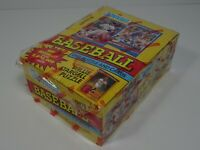 1991 Donruss MLB Baseball Puzzle & Cards Trading Card Hobby Box 36 Packs Sealed