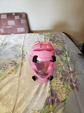 ProForce Thunder Pink Headguard + Shield Karate Taekwondo Sparring Helmet Large