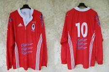 Maillot rugby Stade Français Paris 2001 Diego DOMINGUEZ ADIDAS vintage shirt XL