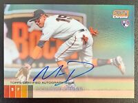 2020 Topps Stadium Club Chrome MAURICIO DUBON Autograph Orange Refractor SP /25