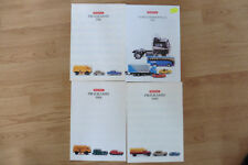 Konvolut WIKING 1/87 H0 4 x Katalog 1986, 1988, 1989, 1993