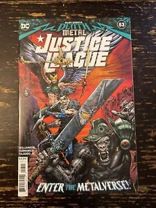 Death Metal Justice League #53 (1st App. Mindhunter) Free Combine Shipping