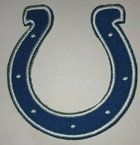"""Indianapolis Colts Embroidered PATCH~2 7/8"""" x 2 3/4""""~Iron Sew On~NFL~Ships FREE"""