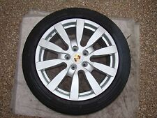 "PORSCHE OEM FACTORY 20"" CAYENNE SPORT DESIGN II WHEELS TIRES AND CENTER CAPS"