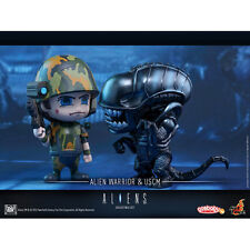 Hot Toys Alien & USCM Cosbaby Collectible Set Alien Colonial Marine Figure
