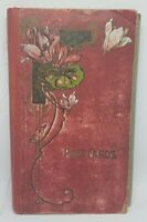 Vintage CARTES POSTALES Hardcover POST CARD Photo ALBUM Photo ART NOUVEAU ~