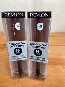 Revlon Colorstay Overtime Longwear Lipcolor 570 NO COFFEE BREAK New 2-Pack