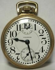 Waltham Railroad Pocket Watch Vanguard M1899 Wind - Up Down Indicator - KQ326