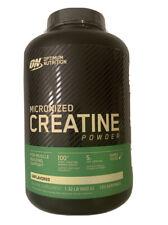 Optimum Nutrition Micronized Creatine Monohydrate Powder 1.32 Lb Builds Muscle