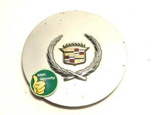 ✅ 1987-1993 Cadillac Allante FACTORY Center Cap Painted Silver Chrome Emblem Hub