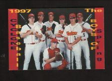 Iowa State Cyclones--1997 Baseball Pocket Schedule