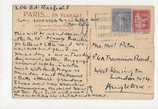 Mrs Noel Paton Trevanion Road West Kensington London 1932 360a