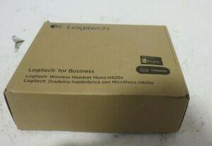 Logitech Wireless Headband Headset Mono H820e- Black